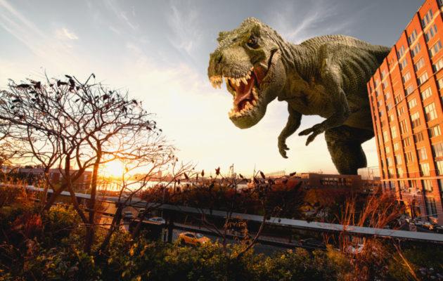 Tyrannosaurus rex on yksi tunnetuimmista dinosauruksista.