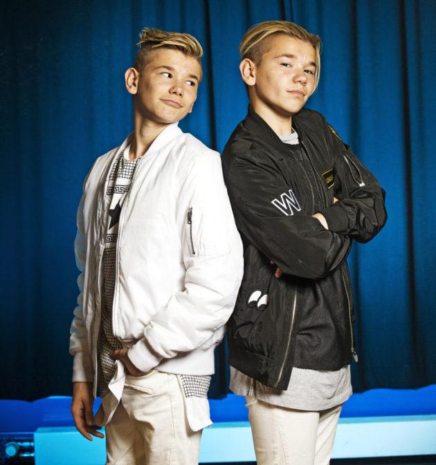 Marcus ja Martinus ovat vasta 14-vuotiaita.