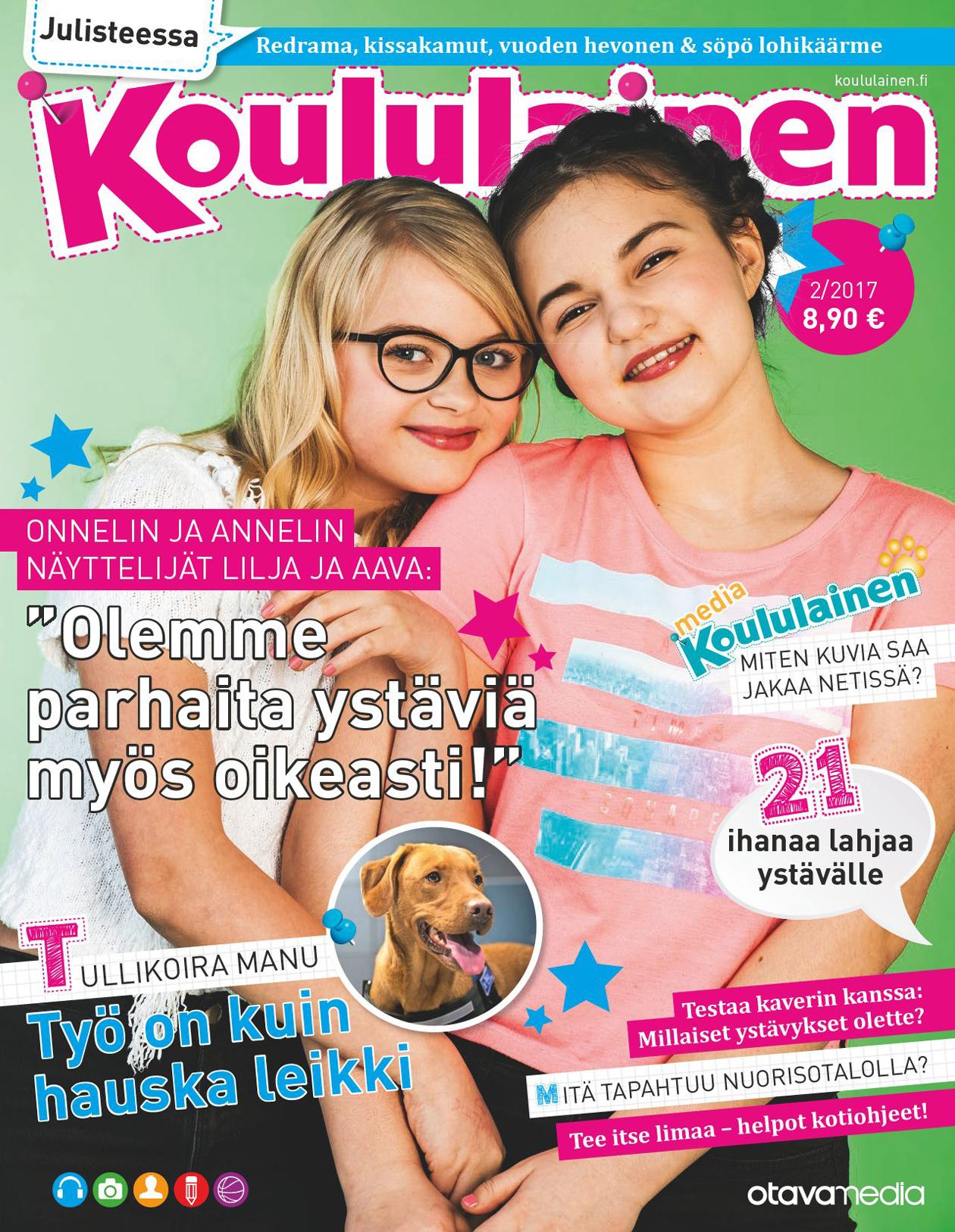 Koululaisen 2/2017 kansikuva