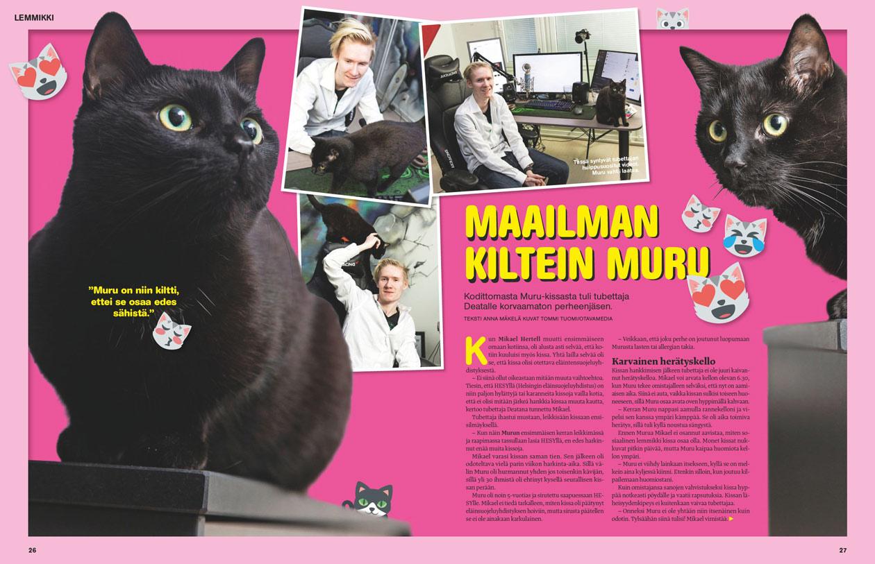 Deata ja Muru-kissa