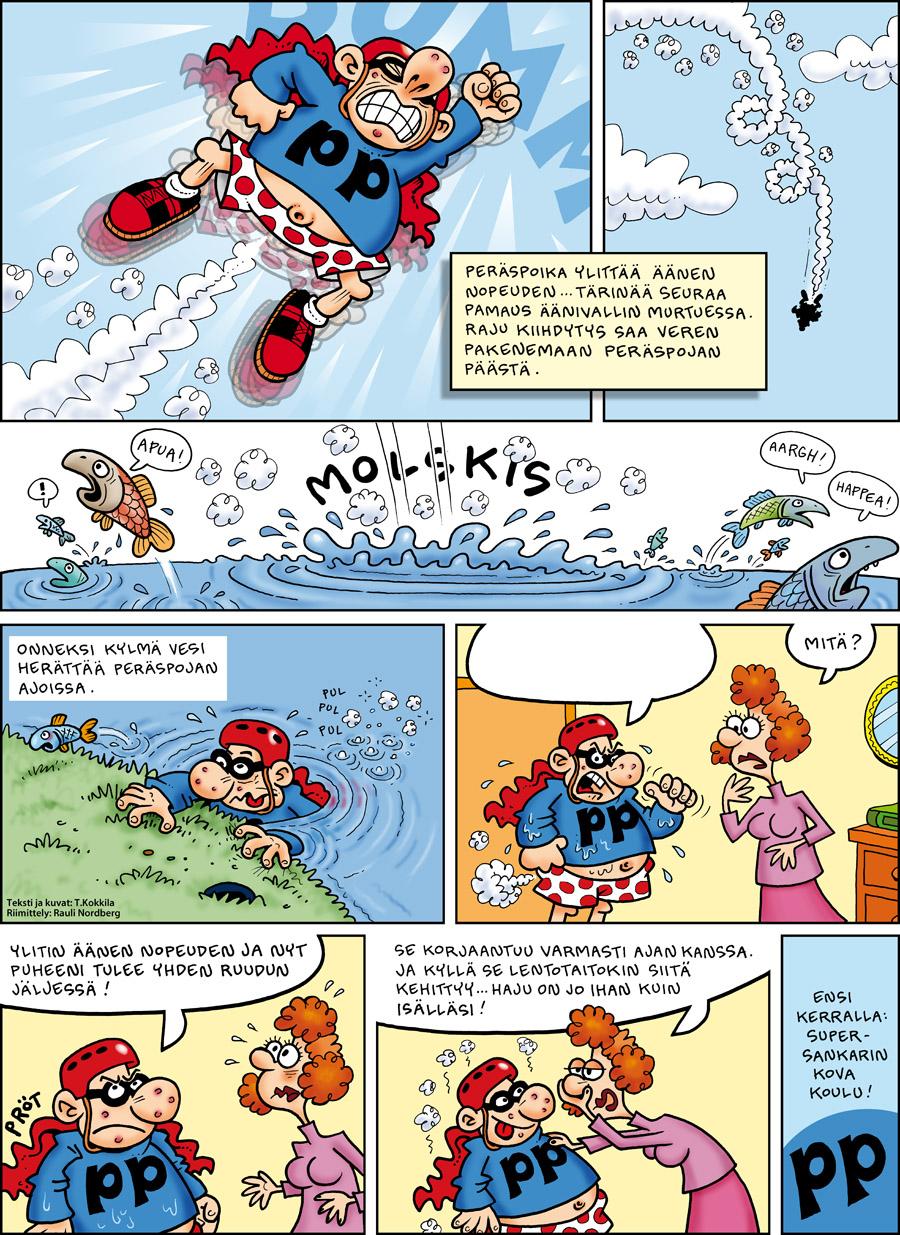 Peräsmiehen poika -sarjakuva
