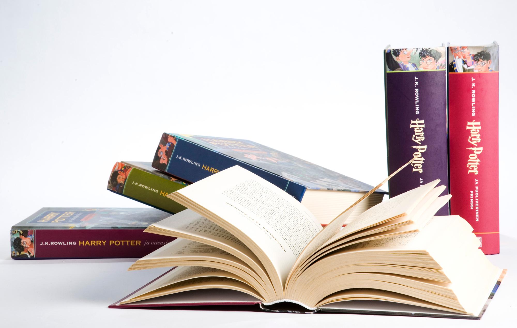 Harry Potter -kirjoja