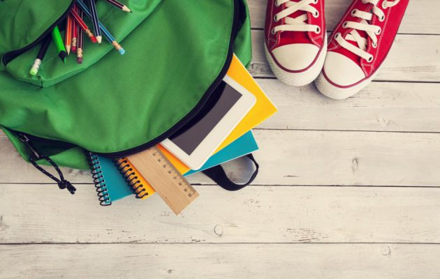 Koulureppu on koululaisen tärkein varuste.
