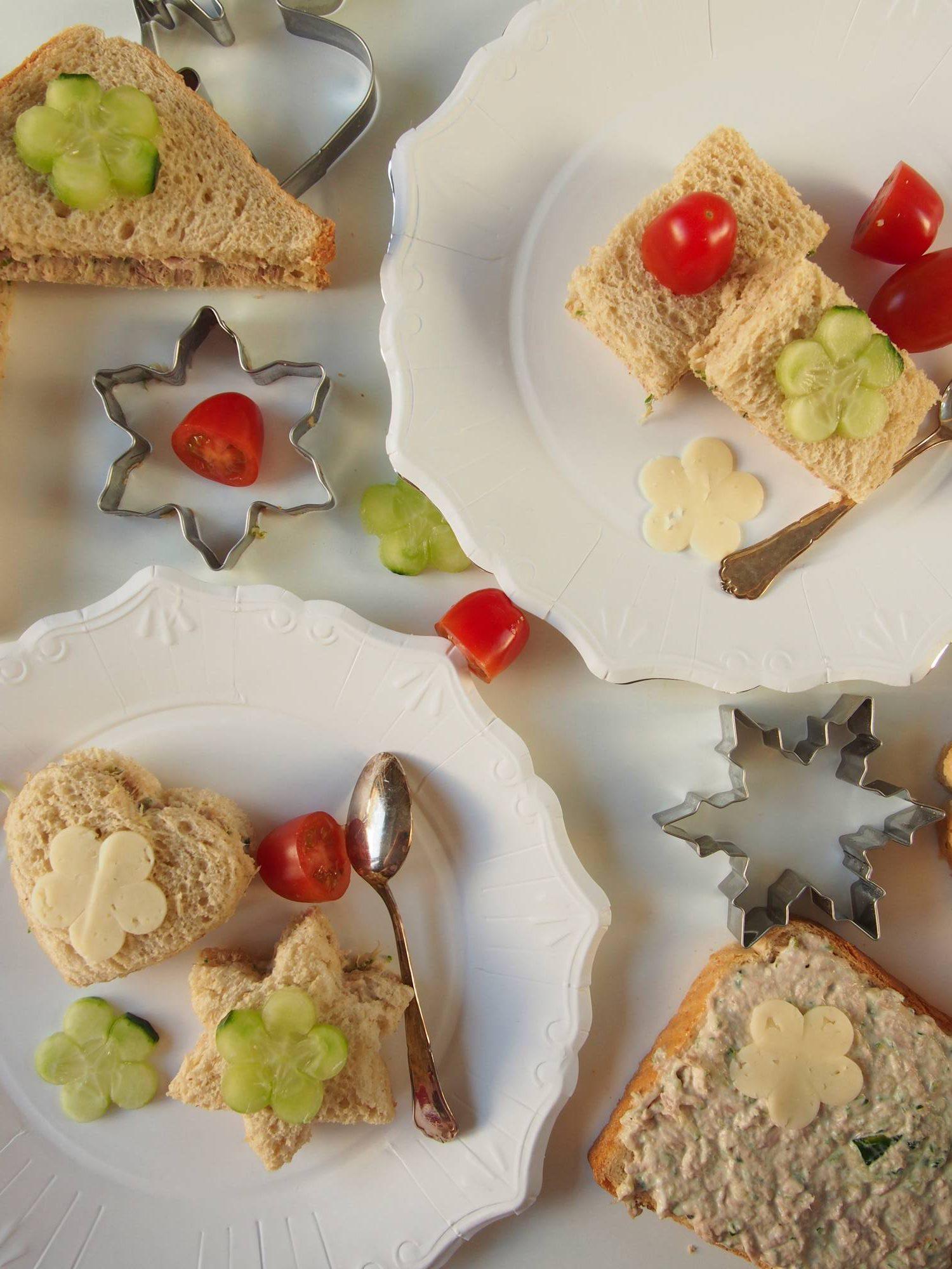 koululaisen välipalaksi tonnikalaleipiä