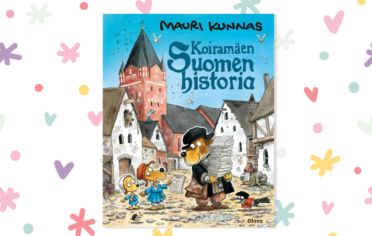 Mauri Kunnaksen kirja Koiramäen historia
