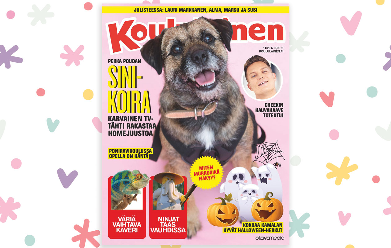 Koululaisen 11/2017 kansi