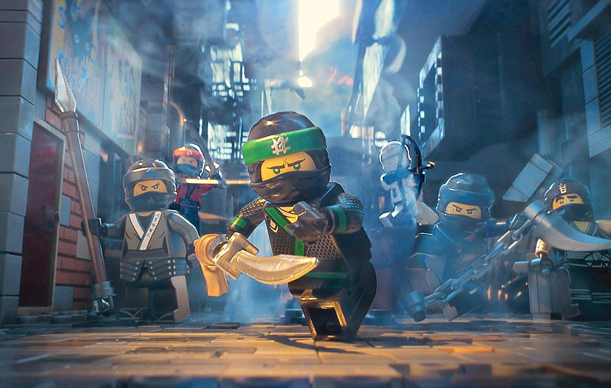 Lego Ninjago -elokuvan ninjat