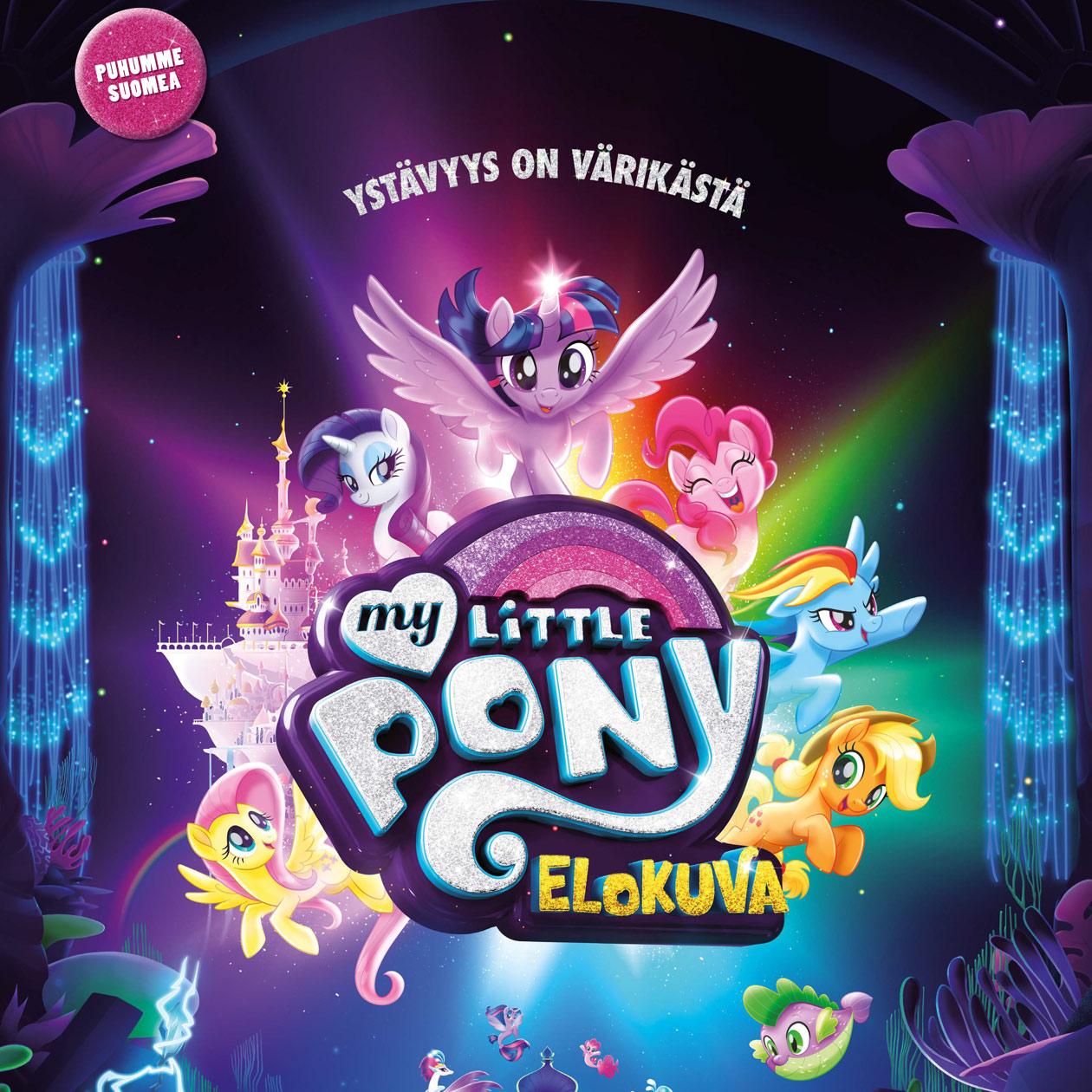 My Little Pony -elokuvan juliste