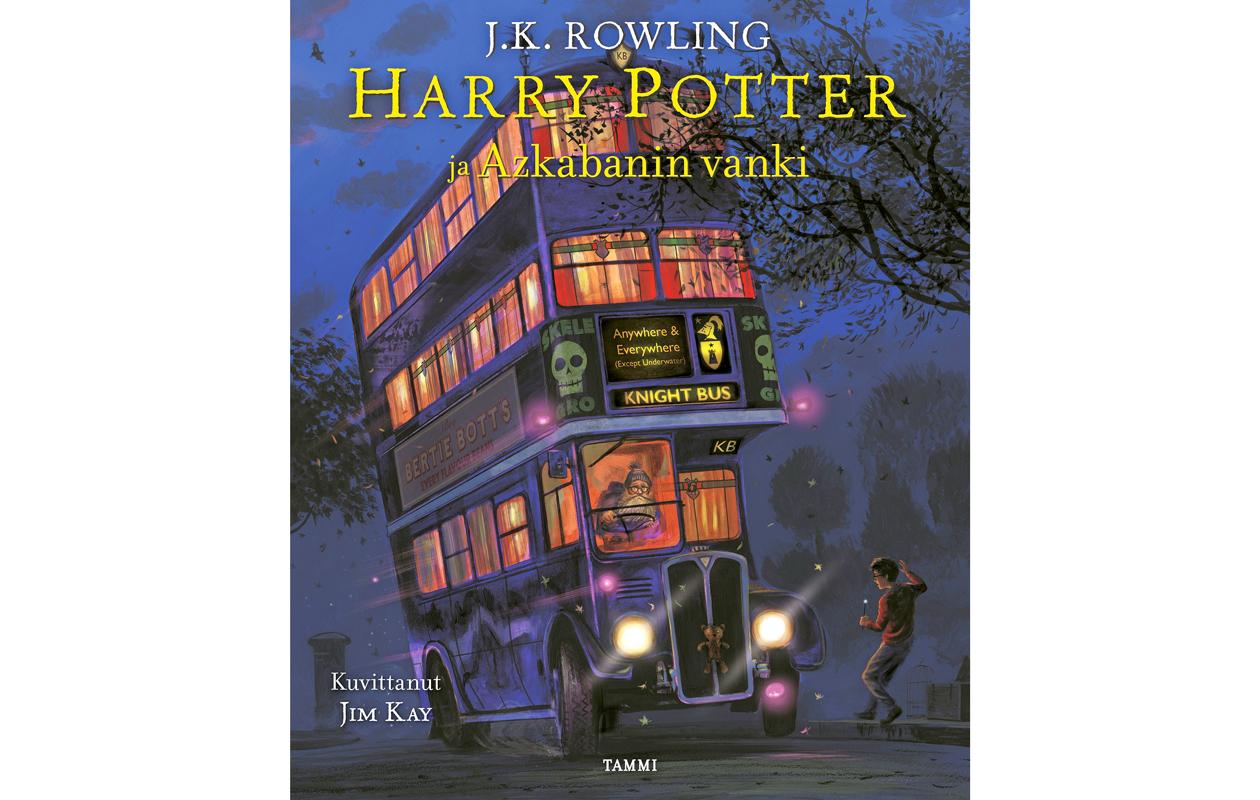 Harry Potter ja Azkabanin vanki - kuvitettu