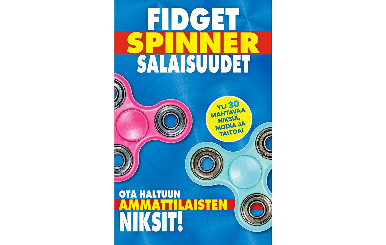 Fidget Spinner Salaisuudet -kirja