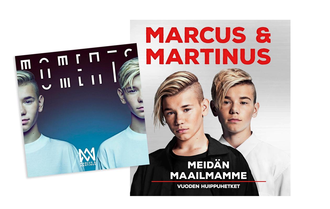 Marcus & Martinus -levy ja kirja