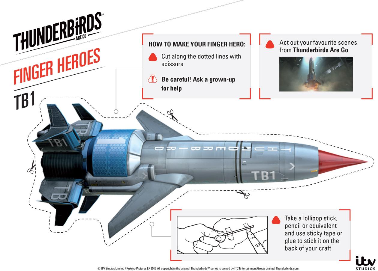 Thunderbirds- eli Myskylinnut-alus TB1