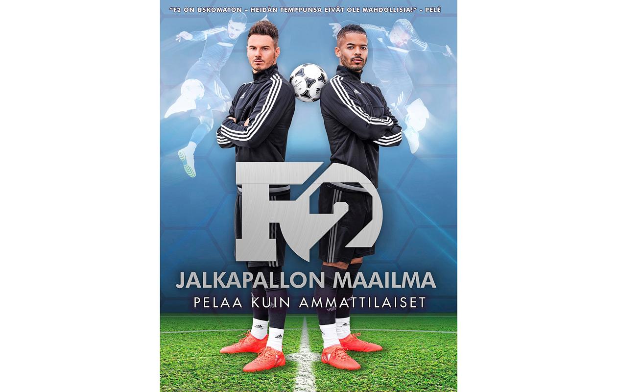 F2 Jalkapallon maailma -kirja