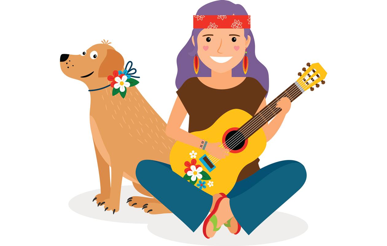 60-luvun hippi
