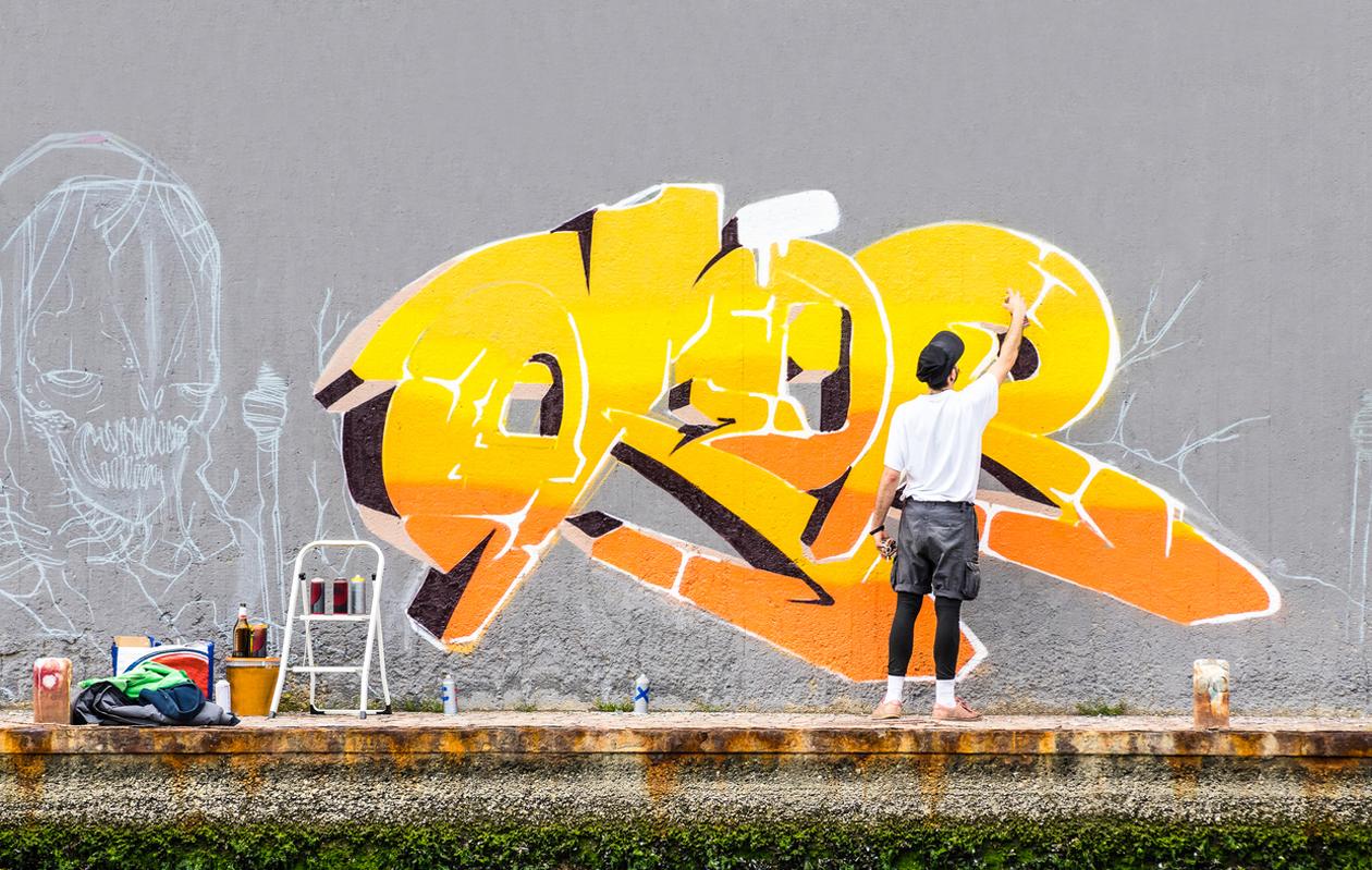 graffititaiteilija