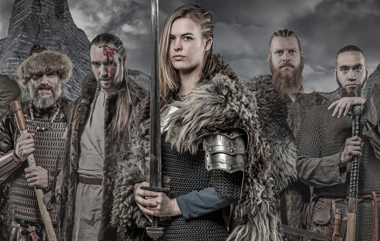 viikinkejä