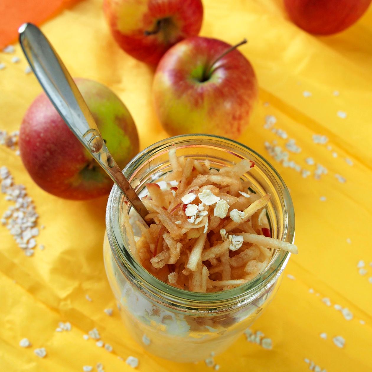 omenaista tuorepuuroa