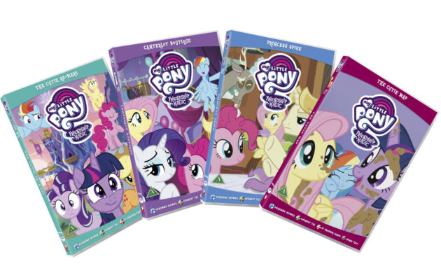 Osallistu kisaan ja voit voittaa My Little Pony -DVD-setin.