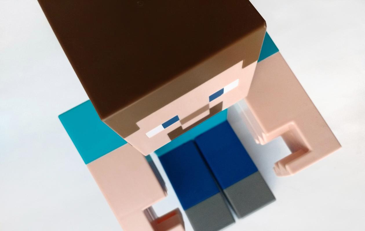 Minecraft-hahmo
