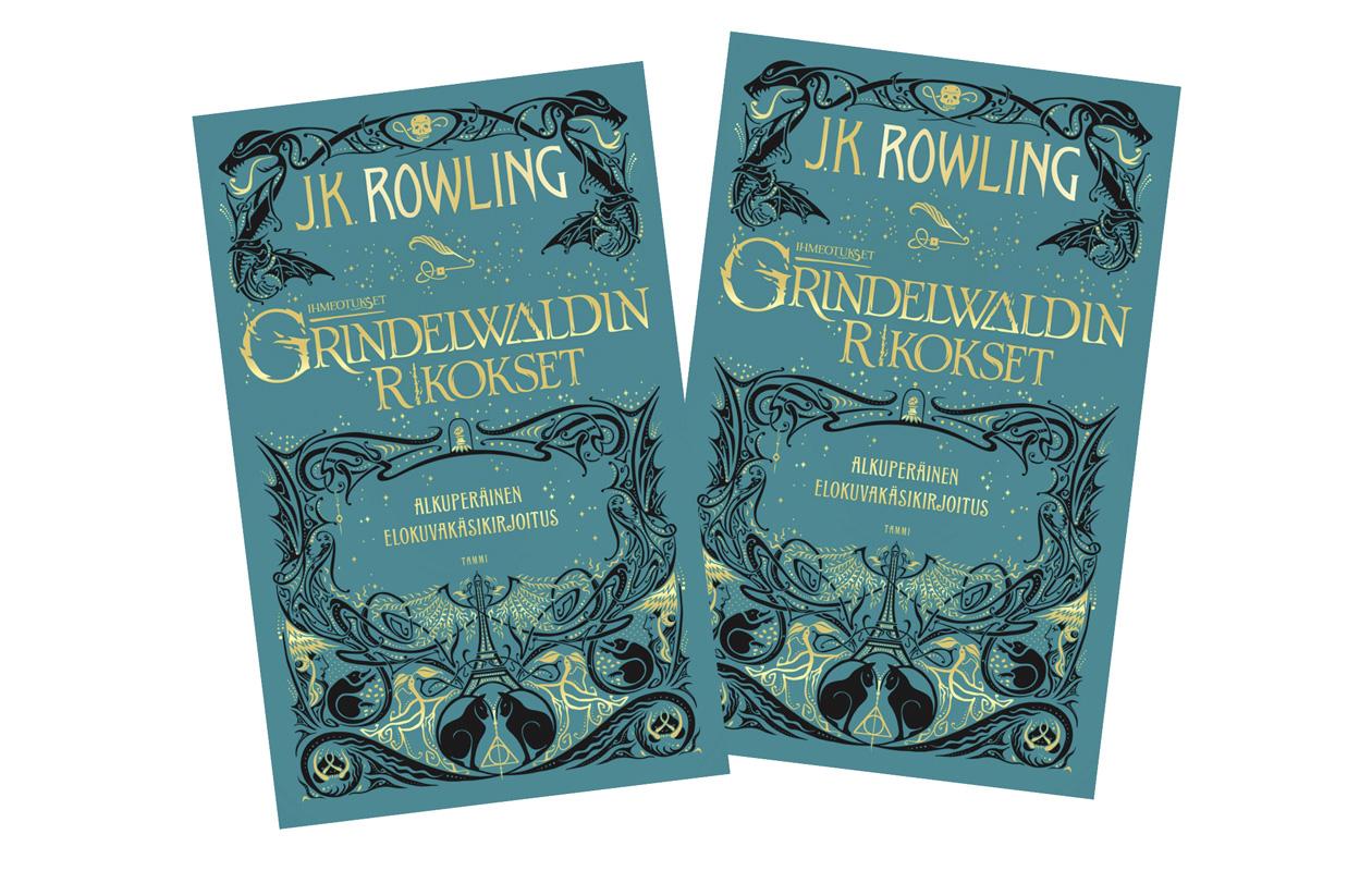 Grindelwaldin rikokset -kirja