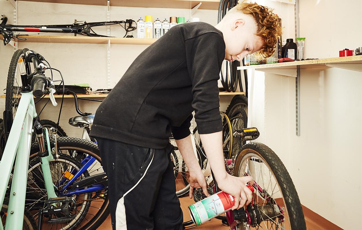 Vili haluaa omalla työllään mahdollistaa sen, että mahdollisimman monet pääsisivät nauttimaan pyöräilystä.