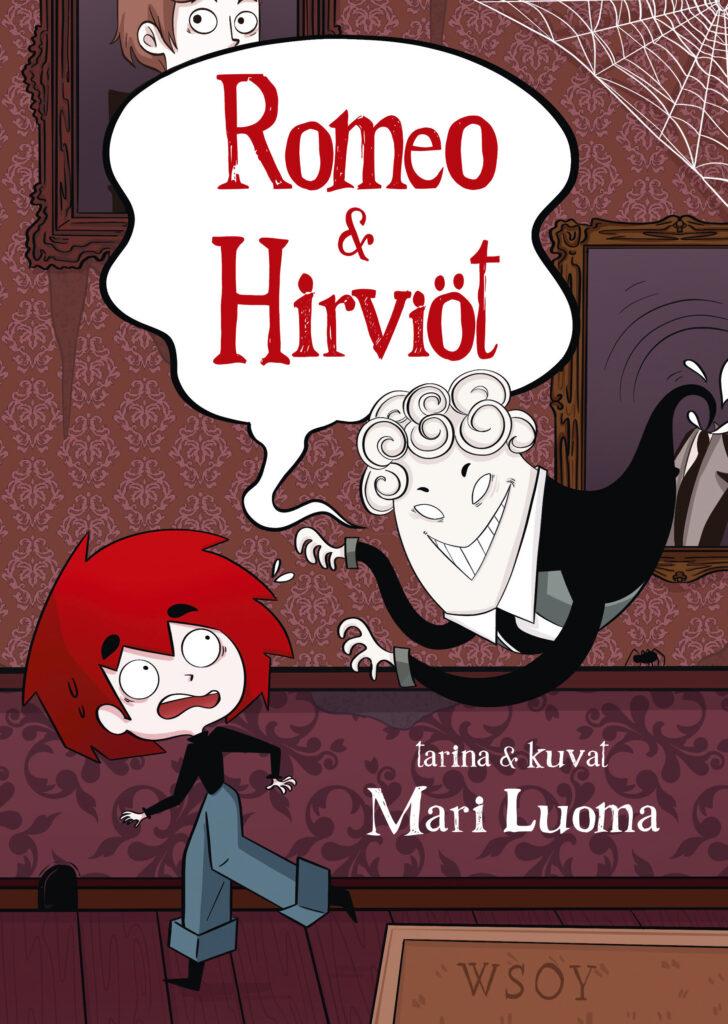 Halloweenin kirjavinkki Romeo ja Hirviöt