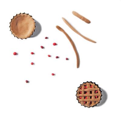 Nukkekodin ruoat: marjapiirakka
