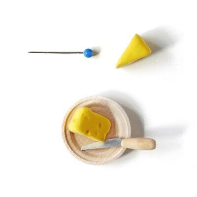 Nukkekodin ruoat: juusto